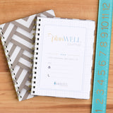 Hard Cover Journal with Thick Grid Paper