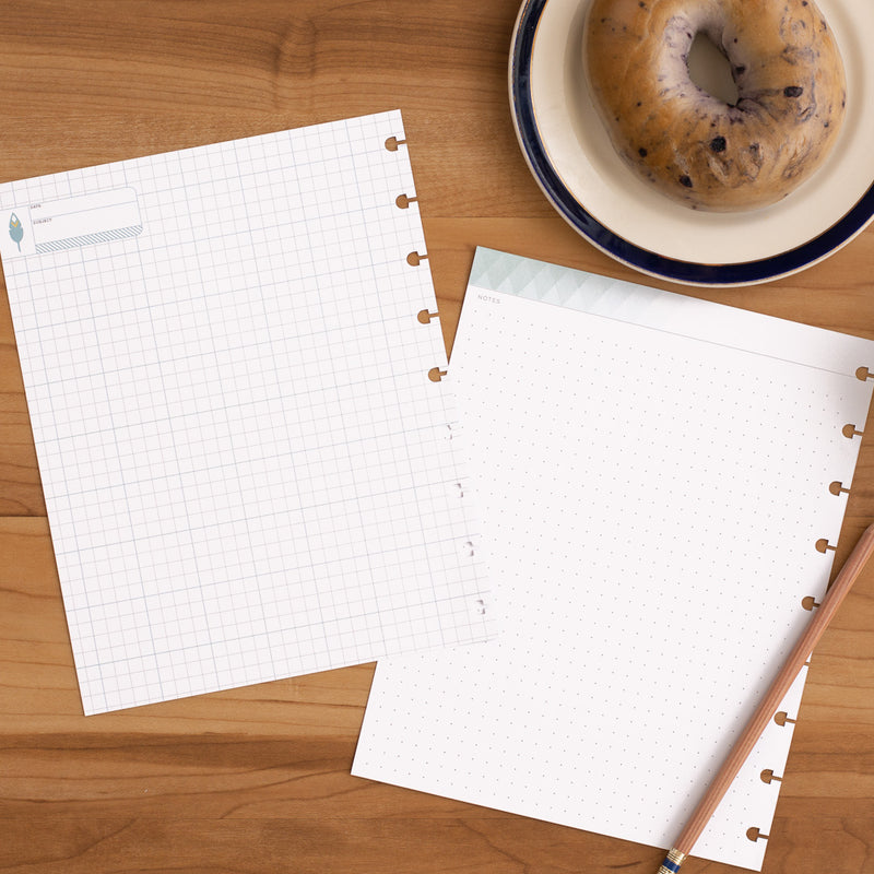 Dot and Grid Notes Pages for 360 Disc Planning System Journal