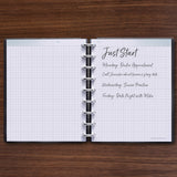 inkWELL Press Gridded Notes for Journaling and Scheduling