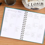 Weekly Grocery Shopping in the Meal Planner by inkWELL Press