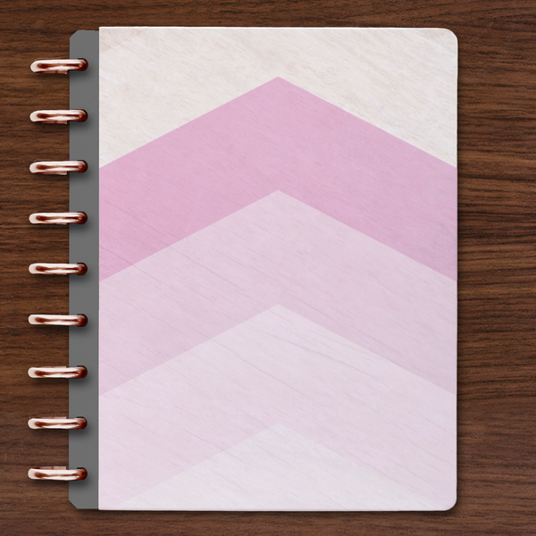 HARD COVER | ORCHID CHEVRON