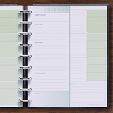 Priority List Inside Of Horizontal Flex 306 Disc Planner