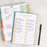 Quick & Simple Meal Ideas Cheat Sheet in the Menu Planner from inkWELL Press