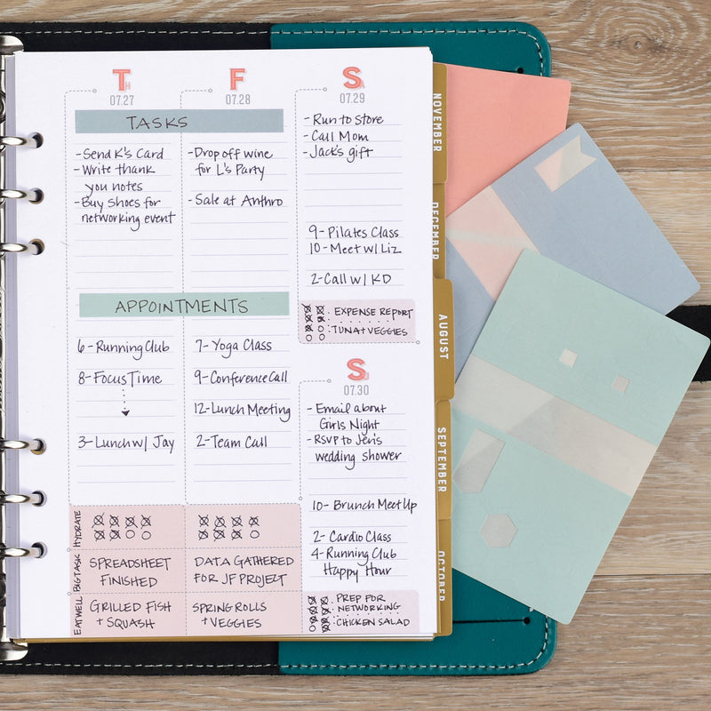 Solid Stickers for your Weekly Planner