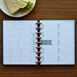360 Disc Planner with Meal Planning and Grocery List Inserts