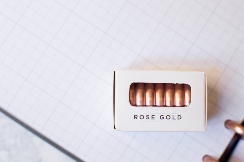 Rose Gold Discs for 360 Disc Planning System