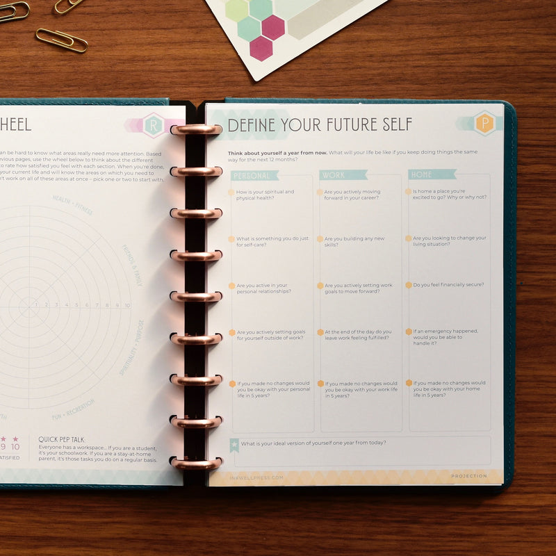GOAL SETTING PLANNER BUNDLE | PACIFIC