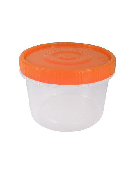porta lunch plástico, topper plástico, topper rojo plástico, topper con tapa, topper plastico 500ml, topper lunch