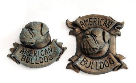 American Bulldog Plaque