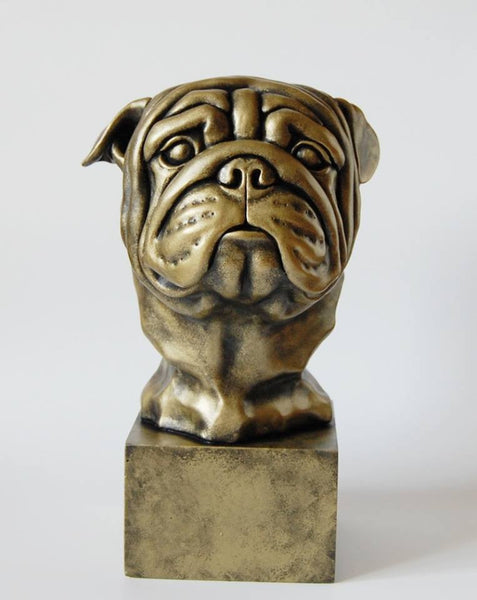 Original English Bulldog sculpture