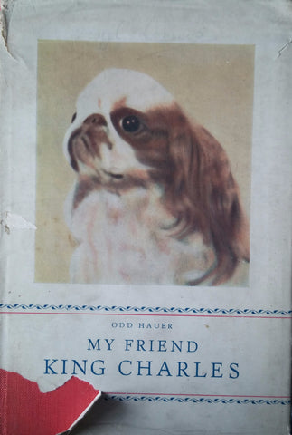 "Book "" my friend the King charles by Odd Hauer"" English Toy Spaniel"