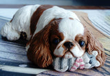Limited Edition English Toy / King Charles Spaniel Sculpture