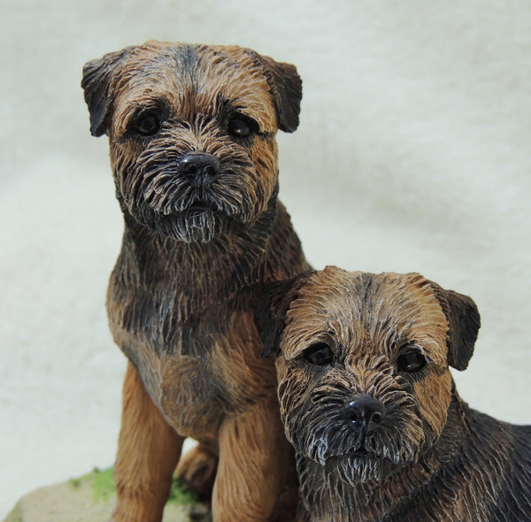 Border Terrier Sculpture , Limited Edition