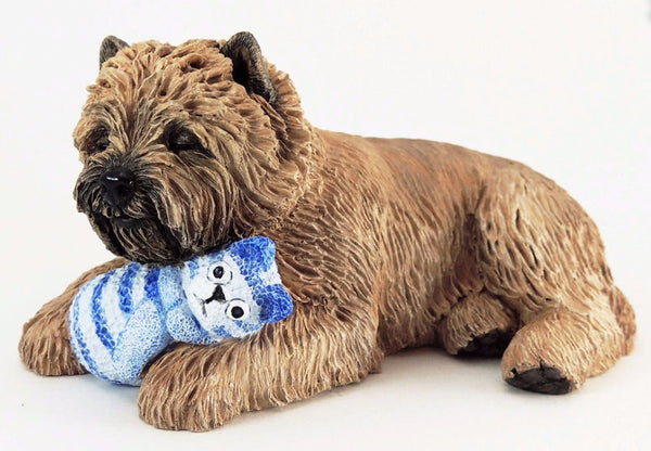 Rosewood Cremation Urn For Cairn Terrier