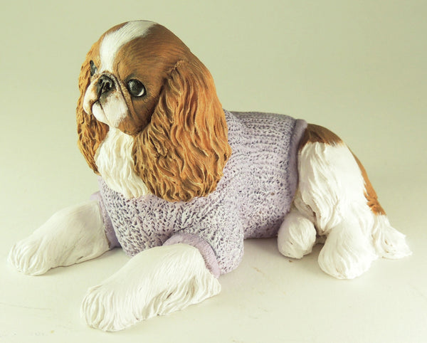 Original Sculpture of a King Charles Spaniel (English Toy)