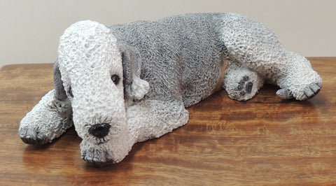 Bedlington Terrier Cremation Urn for Ashes