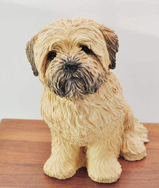 Lhasa Apso wood Cremation Urn