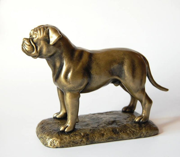 Original American Bulldog sculpture