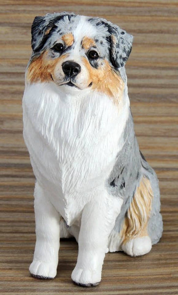 Australian Shepherd dog sculpture