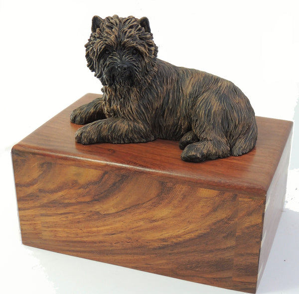 Cremation Urn For Cairn Terrier Dog
