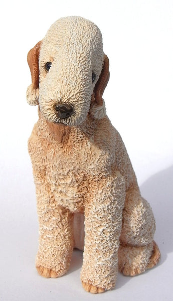 Bedlington Terrier Sculpture