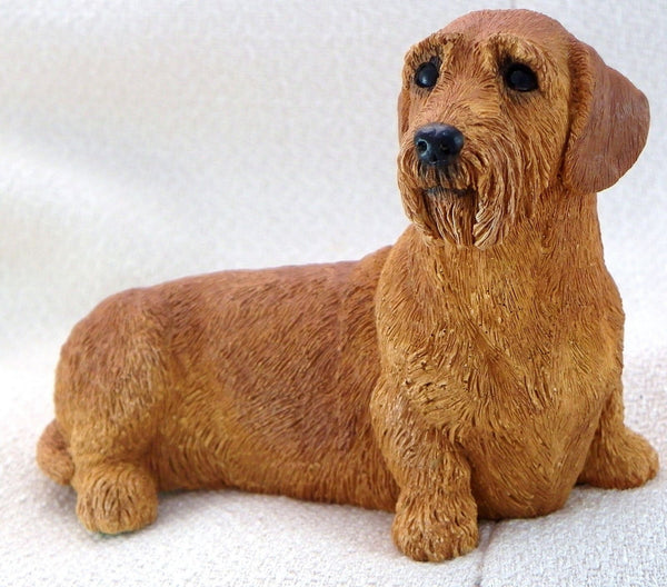 Wire haired Dachshund Figurine