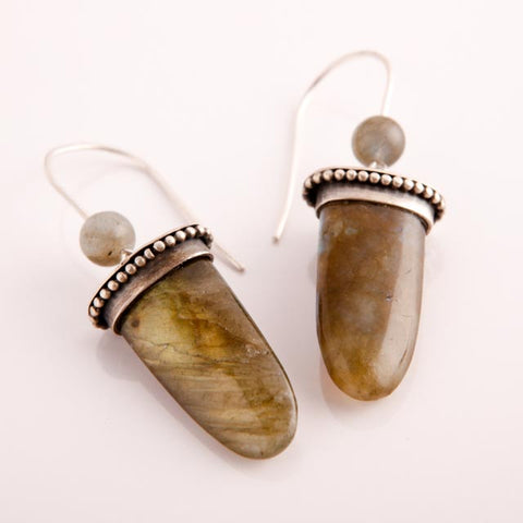 Labradorite Twins In Silver