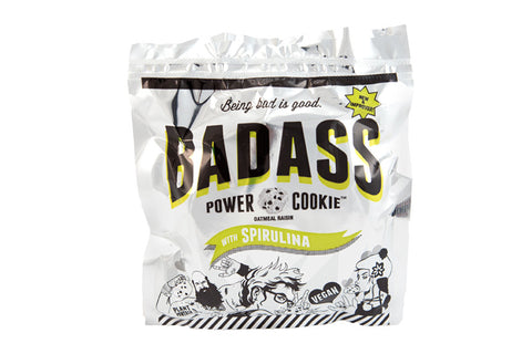 Badass Power Cookie in wrapper