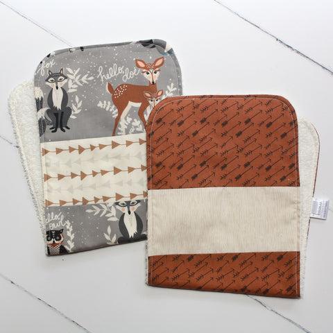 Bear & Arrows Burp Cloth Set