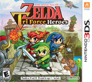 The Legend of Zelda: Tri-Force Heroes (Complete)