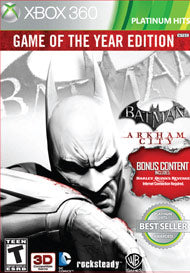 Batman: Arkham City - Game of the Year Edition (Complete)