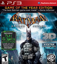 Batman: Arkham Asylum - Game of the Year (Complete)