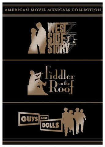 West Side Story / Fiddler on the Roof / Guys and Dolls - American Movie Musicals Collection