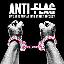 Anti-Flag - Live Acoustic at 11th Street Records (New)