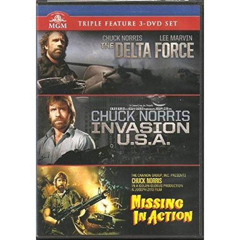 The Delta Force / Invasion U.S.A. / Missing in Action (Chuck Norris Triple Feature DVD)