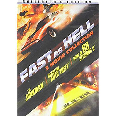 The Junkman / Deadline Auto Theft / Gone in 60 Seconds 2 (Fast as Hell 3-Movie Collection)