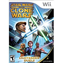 Star Wars: The Clone Wars Lightsaber Duels (Complete)