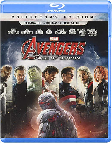 The Avengers: Age of Ultron (Collector's Edition/3D Blu-Ray/Blu-Ray/DVD)