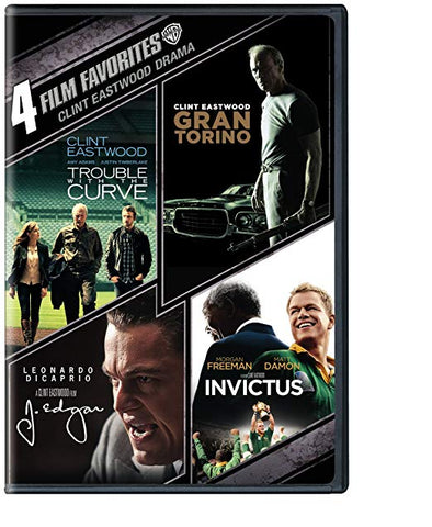 Trouble With the Curve / Gran Torino / J. Edgar / Invictus