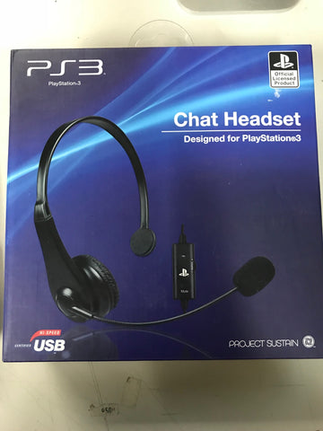 Sony PS3 Chat Headset (Brand New)