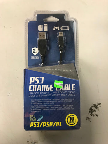 Hyperkin PS3 Controller Charge Cable (Brand New)
