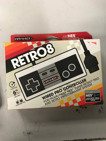 Retrobit NES Controller (New)