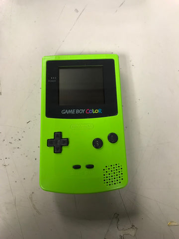 Nintendo Gameboy Color (Green)