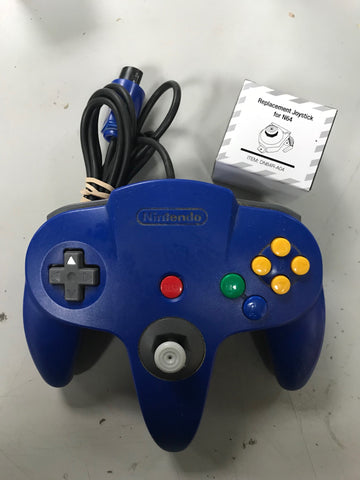 Official N64 Controller (Used w/ New Joystick)