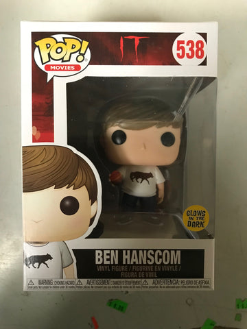 IT S2 Funko Pop! - Ben Hanscom w/ Egg (Glows in the Dark)