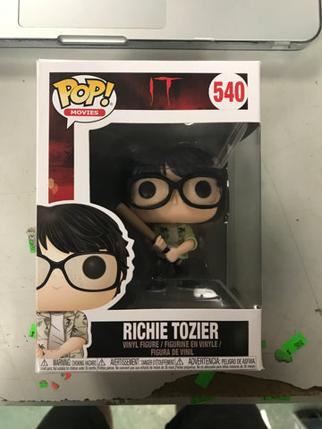 IT S2 Funko Pop! - Richie Tozier w / Bat
