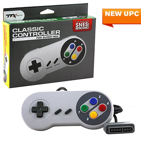 TTXTech Super Famicon Style SNES Controller (New)