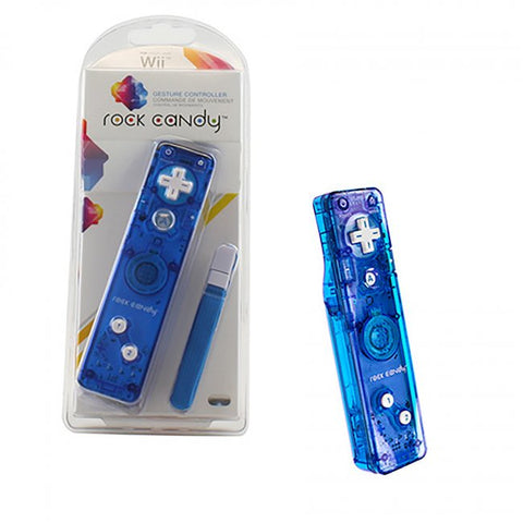 Rock Candy Wii Controller (Blue/New)