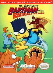 The Simpsons: Bartman Meets Radioactive Man (Cartridge Only)