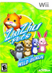 Zhu Zhu Pets 2: Featuring the Wild Bunch (No Manual)